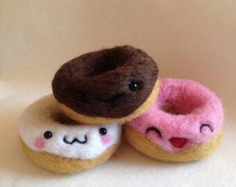 Trio Of Kawaii Doughnuts Gift