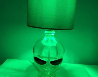 Recycled Bottle Alien Head Lamp