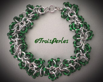37 - Chain Maille Armband - Chainmaille Bracelet