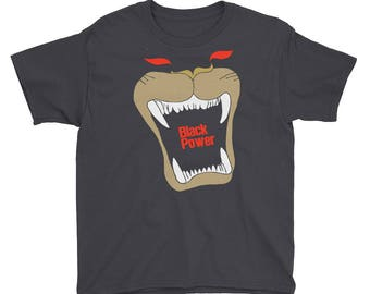 Black Power Youth Short Sleeve T-Shirt