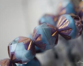Ocean Blues, Czech Beads, Beads,14-3