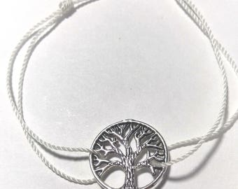 White Tree of life bracelet