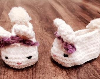 Bunny Baby Booties