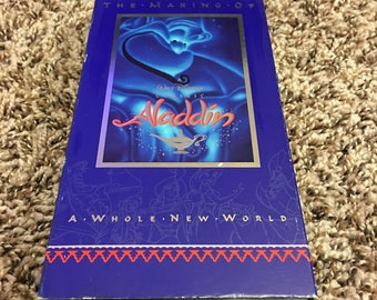 The making of Aladdin: a whole new World -  vintage Special VHS