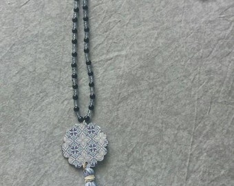 Boho Long handmade necklace
