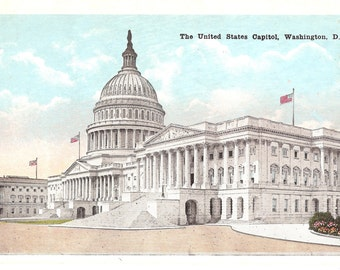 Vintage Postcard...The United States Capitol, Washington, D.C.....Unused...no. 2527