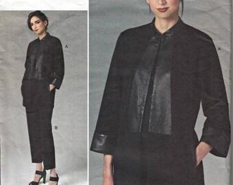 40% OFF 2011 Designer Jacket and Pants Pattern  VOGUE 1264 Vogue American Designer Anne Klein  Out of Print Pattern UNCUT, Factory-Folded  S