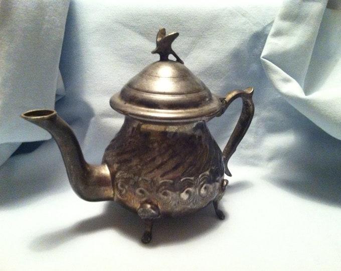 Vintage Teapot can Morocco city FAs Gazal Mint Tea
