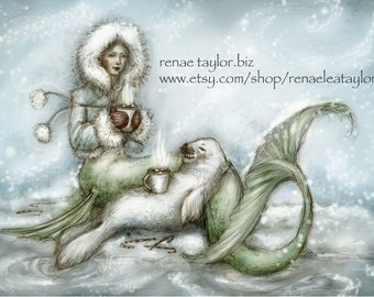 Cocoa Mermaid by Renae Taylor