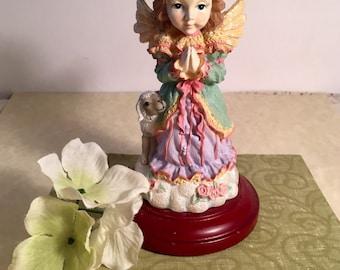House Of Lloyd (1999) Christmas Around World Faith Prayer Lamb Angel