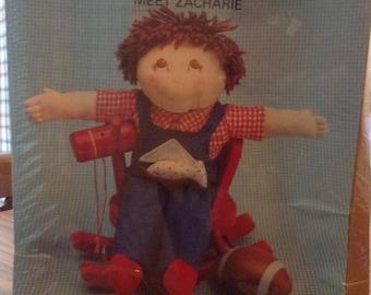 Kutesie Kids Zacharie sculpture doll kit