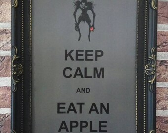 Keep Calm & Eat an Apple | Shinigami | Death Note
