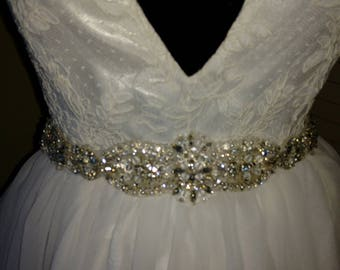 Beaded Bridal Belt
