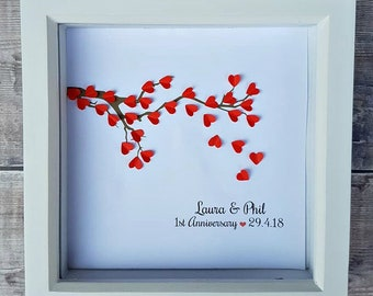 1st anniversary gift etsy
