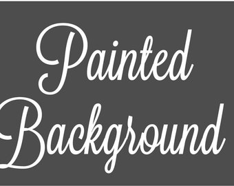Painted Background | Add-on