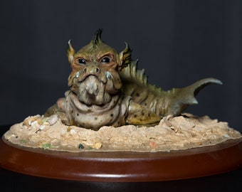 Mermaid Pet Seal Selkie Creature - Limited Edition Sculpture
