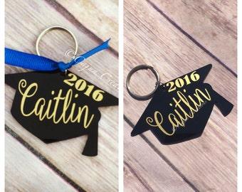 Graduation keychain, personalized, graduation gift, graduation gift, personalized key chain, key holder, custom key ring, grad gifts