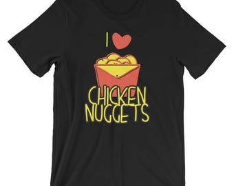 chicken - nuggets - chicken nuggets - funny chicken nugget - chicken tshirt - chicken shirt - chicken nugget - nuggets lover