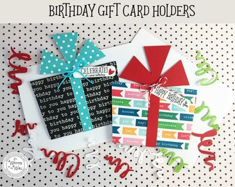 KIT Birthday Gift Card Holder, Cash for Birthdays, Gift Card Holder, Birthday Gifts, Happy Birthday, Birthday Present, Gifts or Teenagers