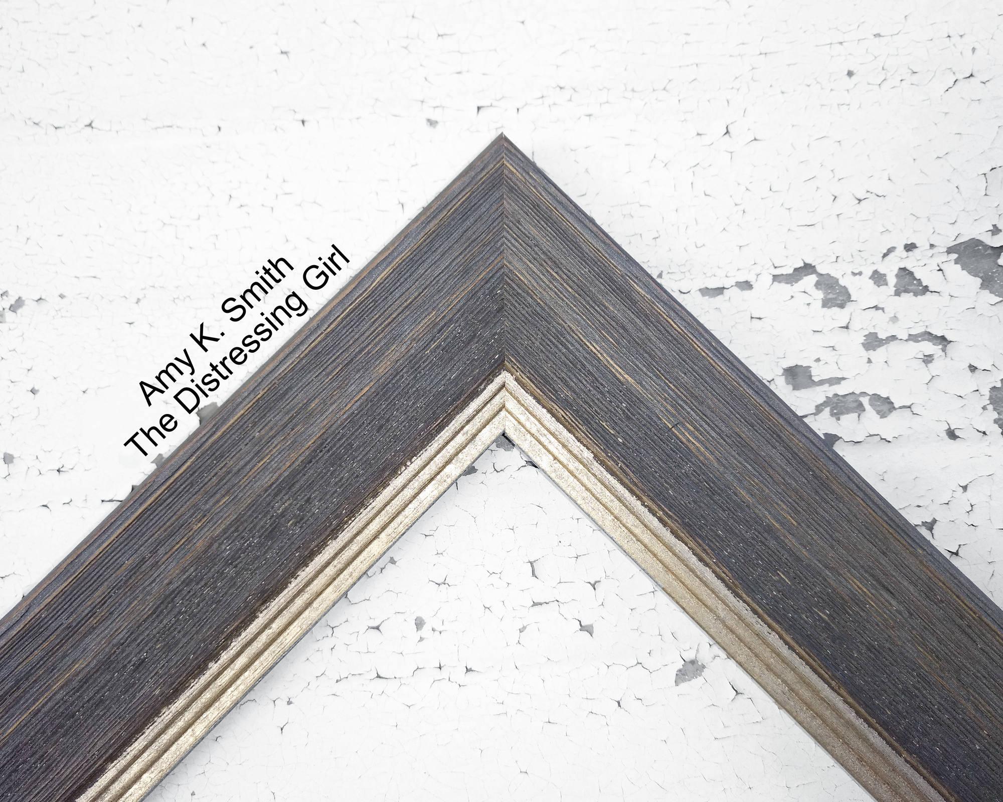 16 x 24 grauen Rahmen grau rustikal 16 von 24 Scheune