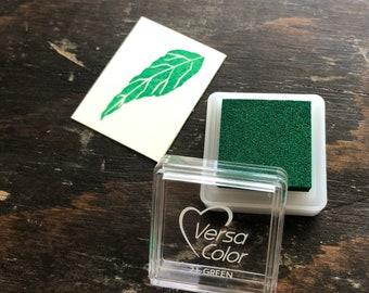 Versacolor Green Ink Stamp Pad