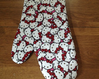 Hello Kitty Oven Mitt