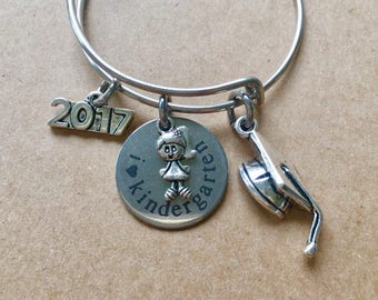 2018 Kindergarten Graduation Bangle