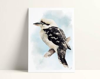 Illustrated postcard - 12, 7 x 17, 8 cm - bird