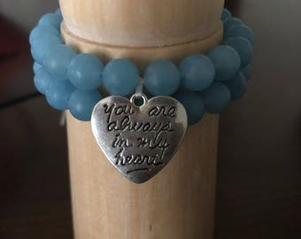 Eating Disorder Awareness Bracelet Set