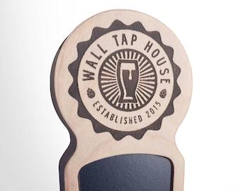 Engraved Custom Beer Tap Handle - Comet