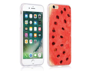iphone 6 case ultra slim soft case back cover for apple iphone 5 se iphone 6 plus iphone 7 plus watermelon