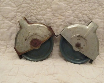 Set of Vintage Pulley's with Patent Date 1955 SALE