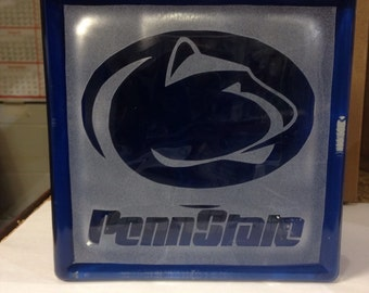 Penn state glass block