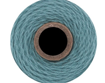 Solid Teal Colored Divine Twine BakersTwine by Whisker Graphics - 240 yard spool