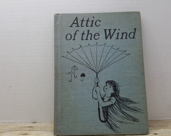 Attic of the Wind, 1966, Doris Herold Lund, Ati Forberg, vintage kids book