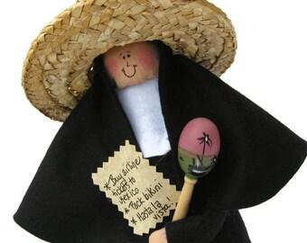 nun doll Catholic gift-Sister Kay Pasa, vacation in Mexico