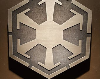 star wars sith logo plaque