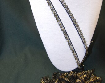 black and gold lace 4.50 m