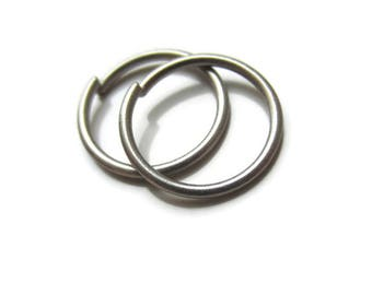 Nickel Free Titanium Small Hoop Earrings Titanium Cartilage Earrings, One Pair
