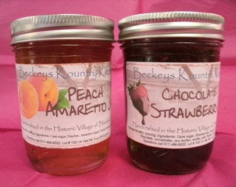 Jam.Jelly. Homemade Jams and Jellies. Choose 2 of your favorite jams or jellies. FREE SHIPPING
