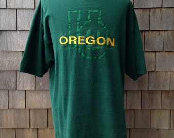 90s vintage University of Oregon Ducks T shirt - XL