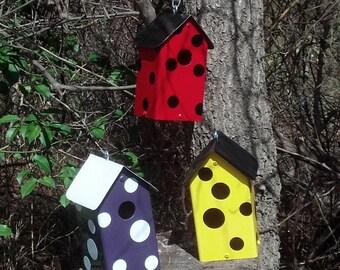 Polka Dot Birdhouse