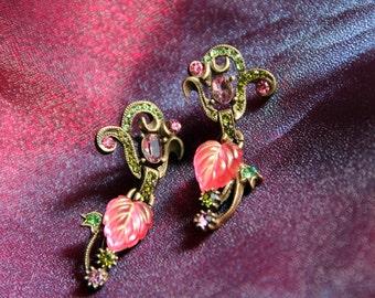 Leaves of Glass Earrings E1203