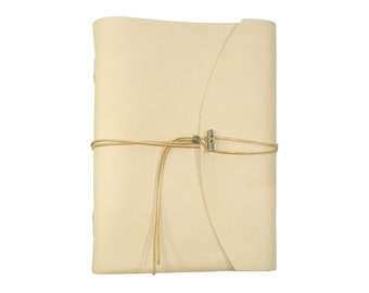 Soft leather book OX Nature Classic A4 diary book sketchbook of brand Vicky's World - Made in Germany