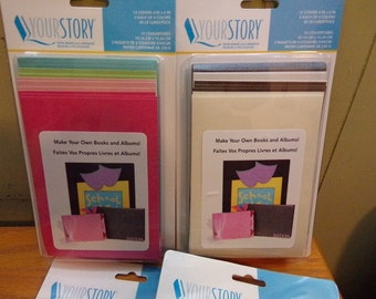 "YOUR STORY NEUTRALs - ALBUM COVERs -5x7"" - FLEXIBLe SOFt - EMBOSSABLe- - 5x7 Album Covers -NEUTRALs"