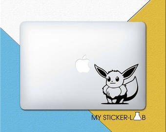 MacBook Sticker Pokemon MacBook Decal Eevee Sticker Pokemon Decal Pokemon Laptop Decal Vinyl Sticker Laptop Sticker Pokemon MacBook Pro m365