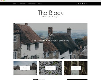 Z-Black - A Beatiful Blog Theme -Wordpress template- Feminine wordpress theme - Responsive WordPress Theme - Fashion template