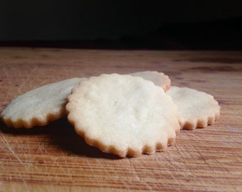 Sables (French Butter Cookies, Punition Cookies, Shortbread Cookies; 40 per order)
