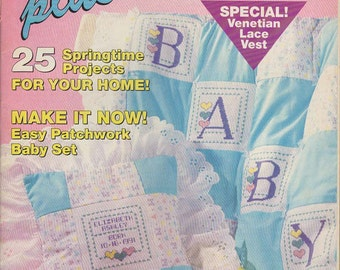 Cross Stitch Plus Magazine --May 1991