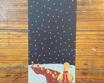 Christmas Card // Boston // Make Way for Ducklings // Public Garden // Holidays